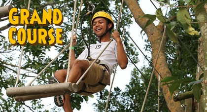 Adventure on the Grand Course at Forest Adventure