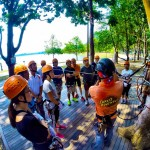 Our participants actively listening to the safety briefing. #forestadventuresg #treetops…