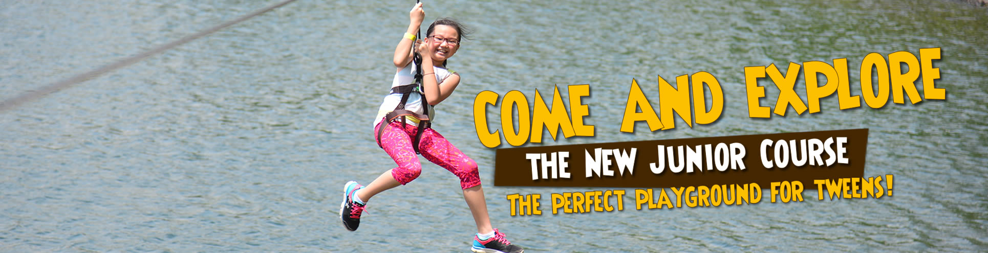 come and explore the new junior course