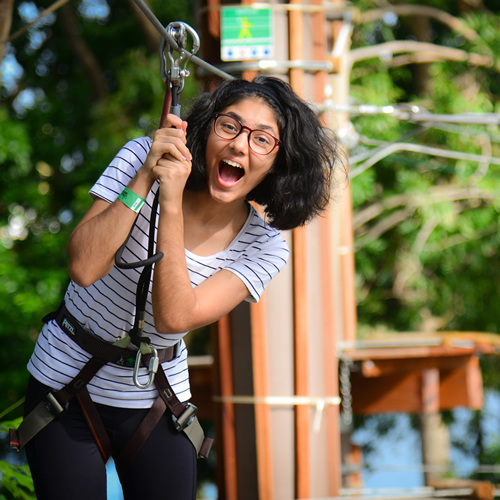 Forest Adventure Singapore's first and only Treetop obstacle
