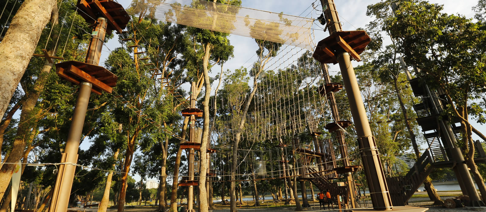 Map Of The Course Forest Adventure Singapore S First And Only Treetop Obstacle Course